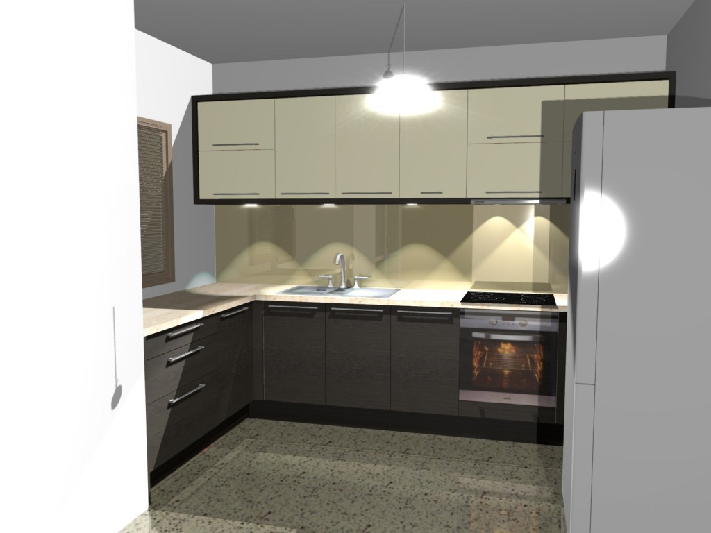 Projekty kuchni i aran acje kuchenne for Projekty kuchni z salonem