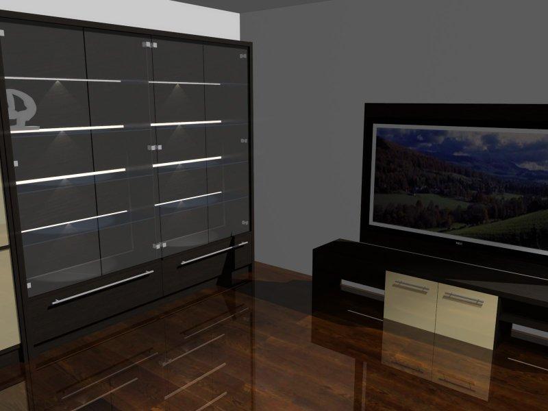 Projektowanie wnętrz - gabinet