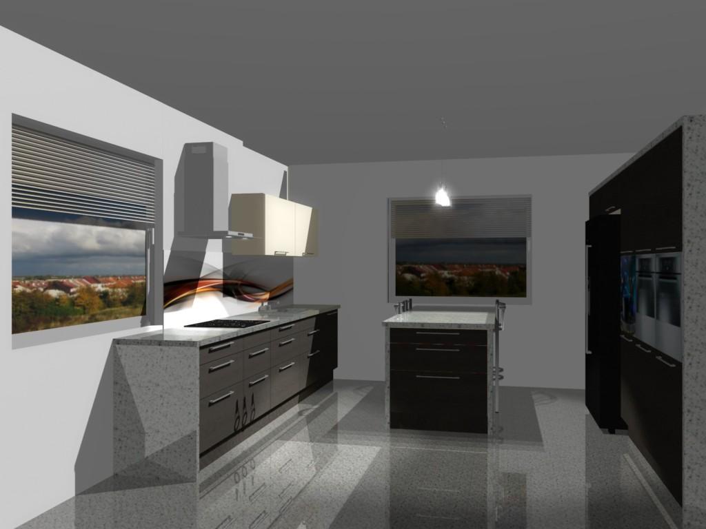 kuchnia wenge i wanilia  Projekty mieszkań i Meble na wymiar  Wystrój wnętrz