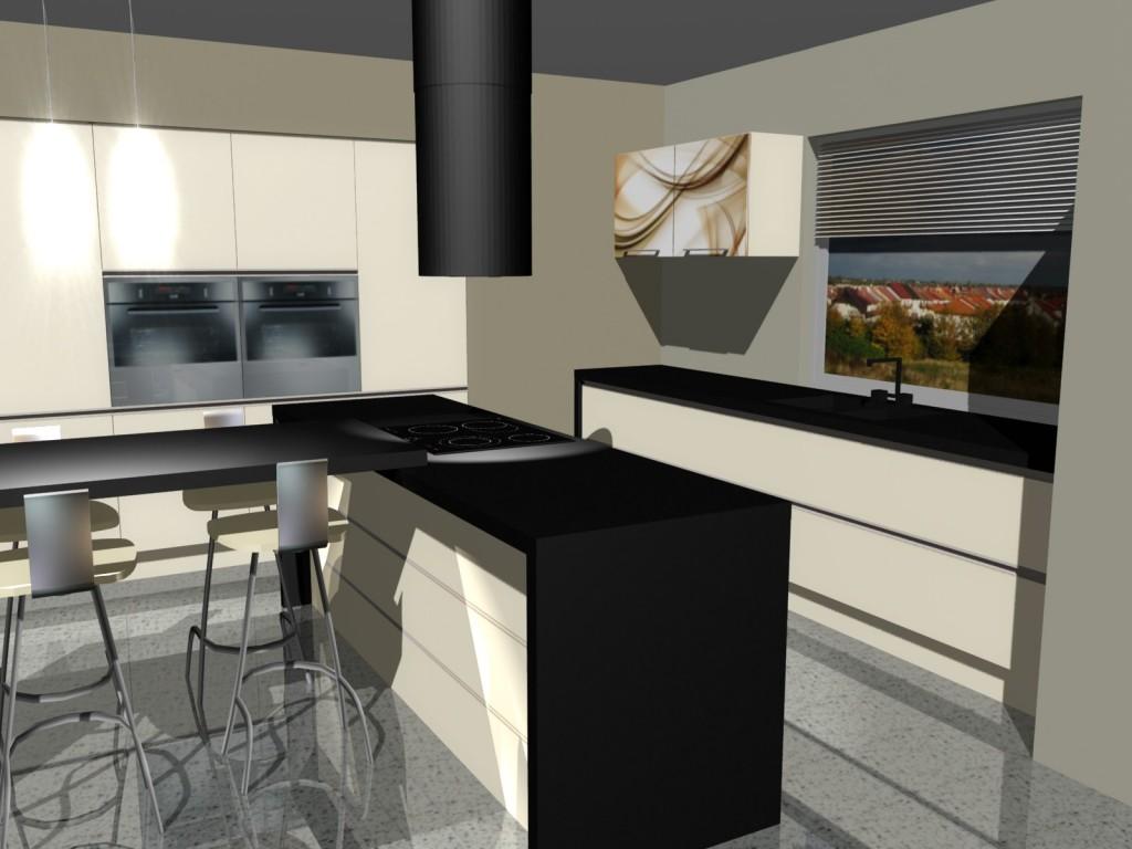 nowoczesna kuchnia wyspa 4 - Kopia