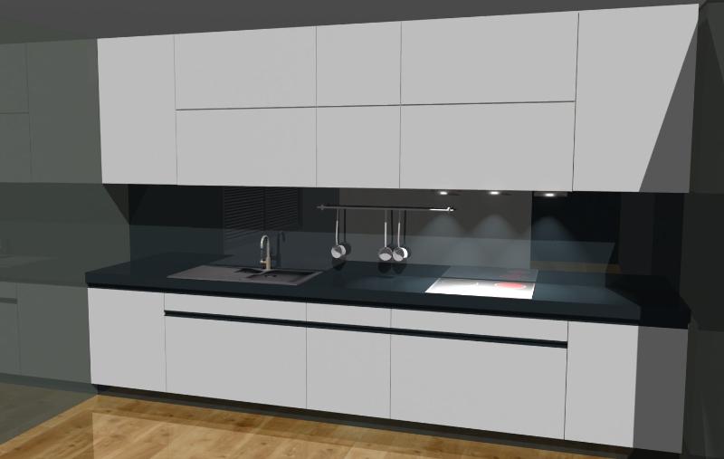 Kuchnia w salonie czy u stolarza  Projekty i aranżacje wnętrz # Kuchnie W Salonie