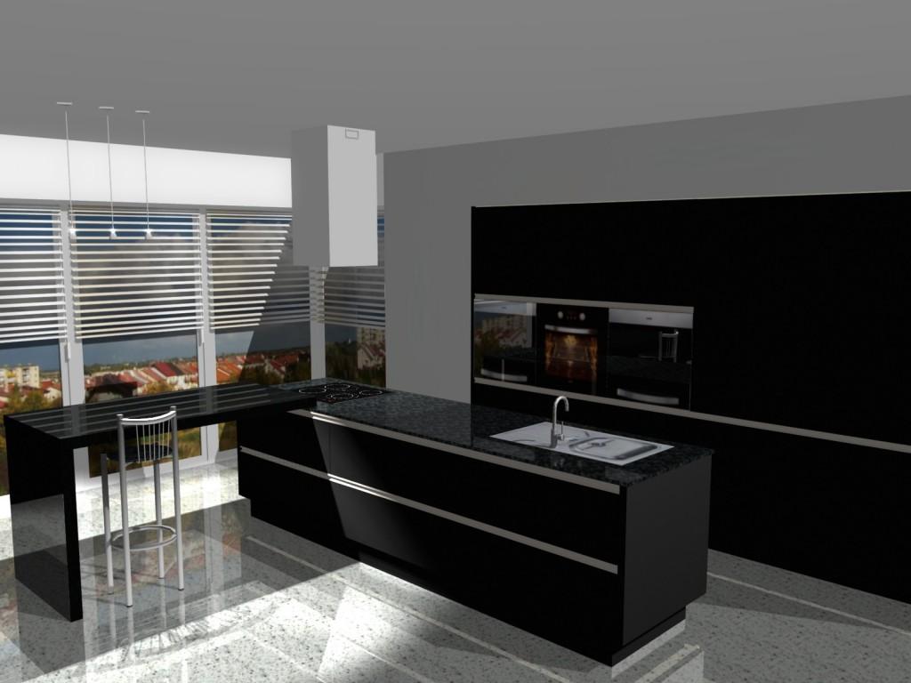 projekt kuchni nowoczesnej4265