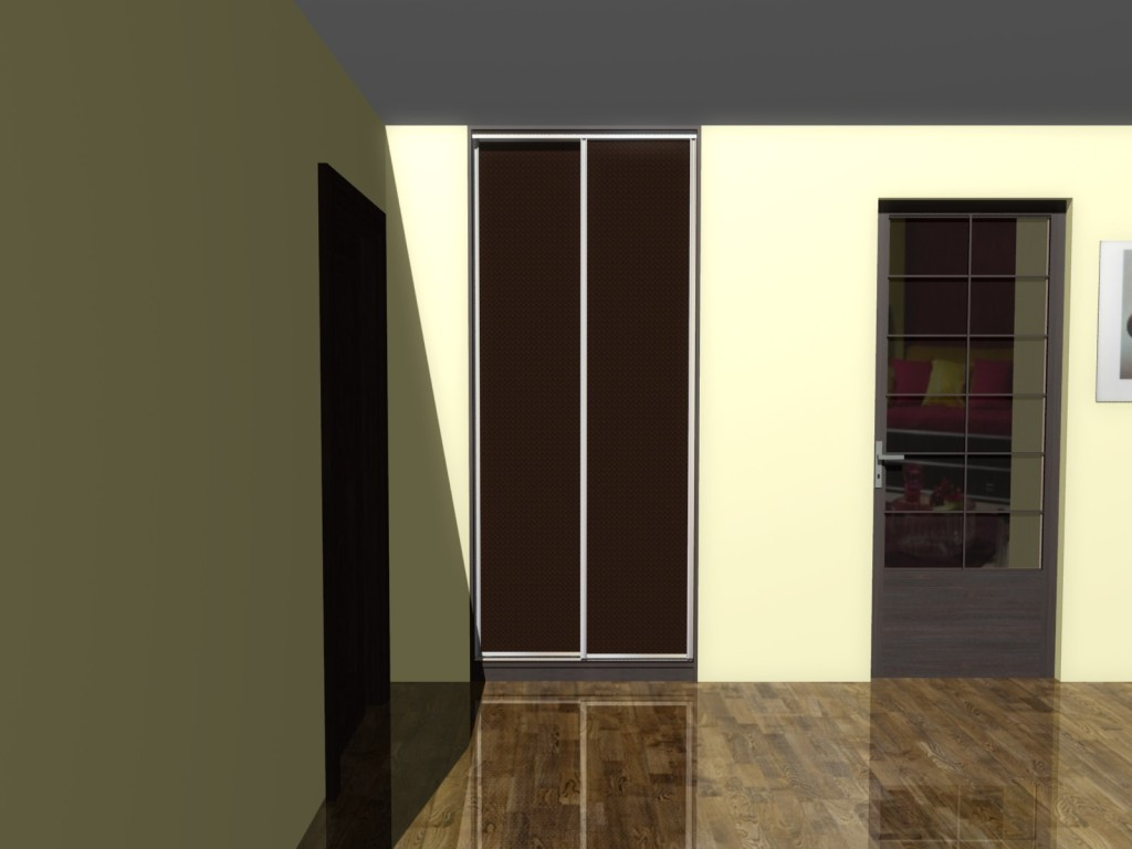 projekt szafy do zabudowy
