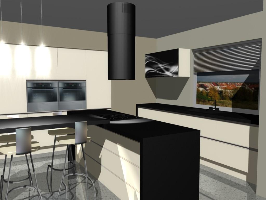 projektowanie wyspy kuchennej