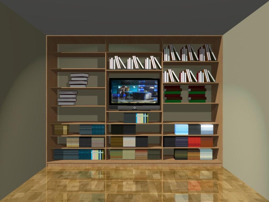 Projekty szafy z miejscem na telewizor