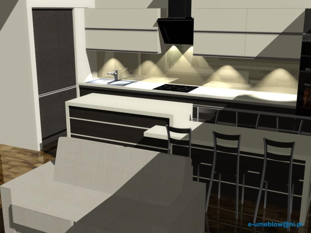 Projekty kuchni online projekty i aran acje wn trz for Projekty kuchni z salonem