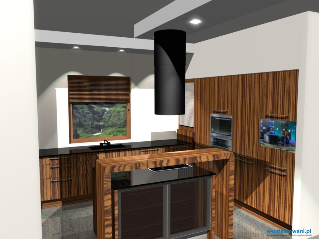 Projekty kuchni z salonem for Polaczenie kuchni z salonem