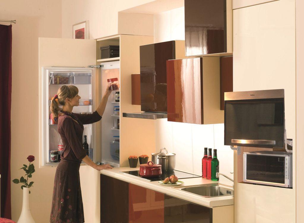 Kuchnia ciekawe rozwiązania -> Inspiracje Kuchni Nowoczesnych