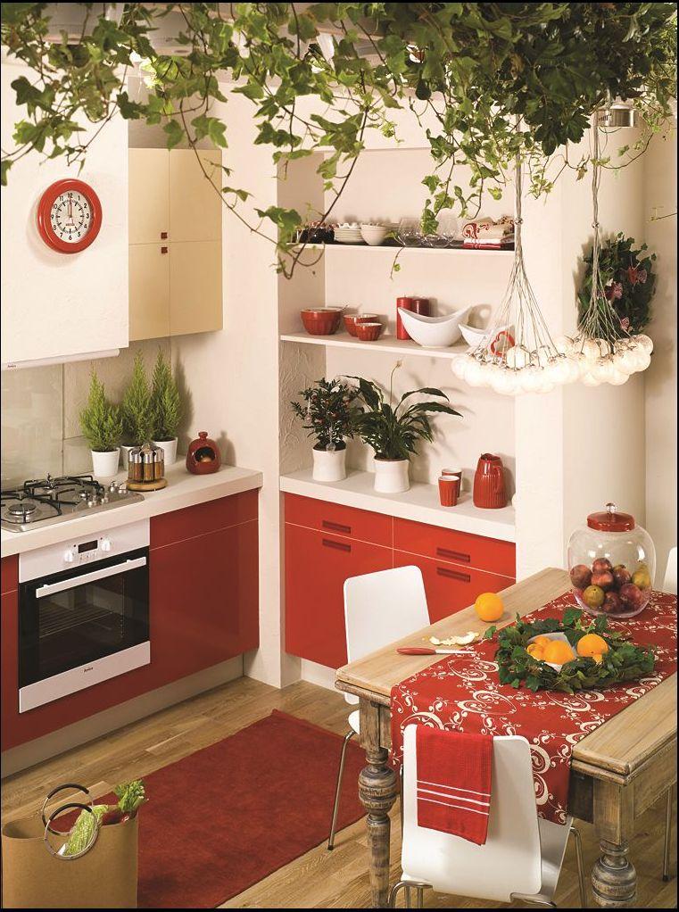 projekty małych kuchni