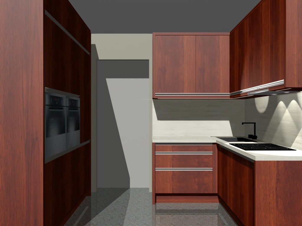 Nowoczesne małe kuchnie, projekty kuchni w stylu minimalistycznym