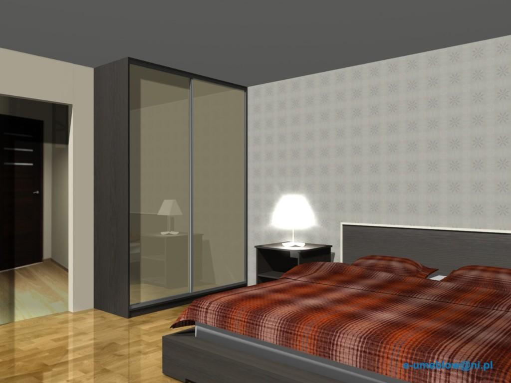 projekty szafa do sypialni