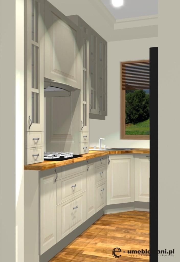 Kuchnia angielska jedno okno