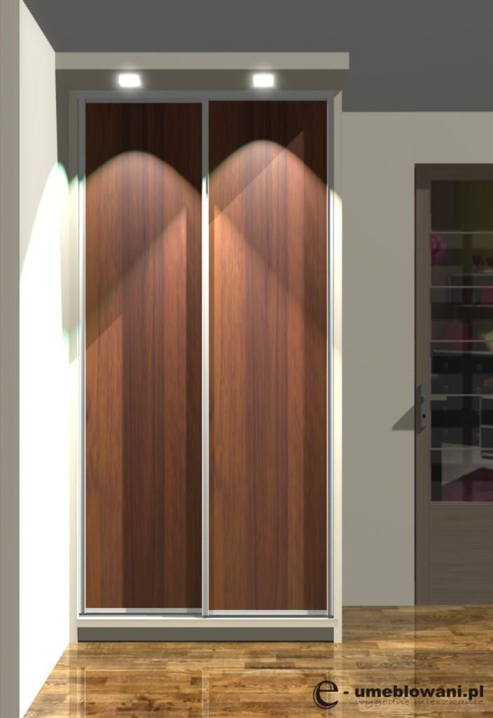 wnętrza szafy 120x60