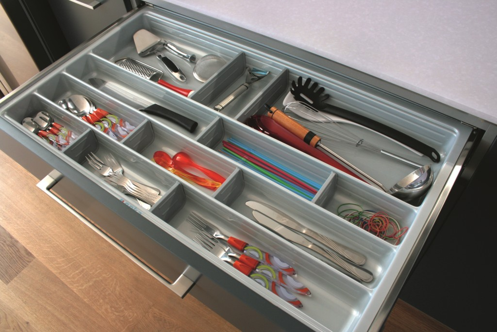 kuchnia, meble kuchenne, Wkład na sztućce Scoop