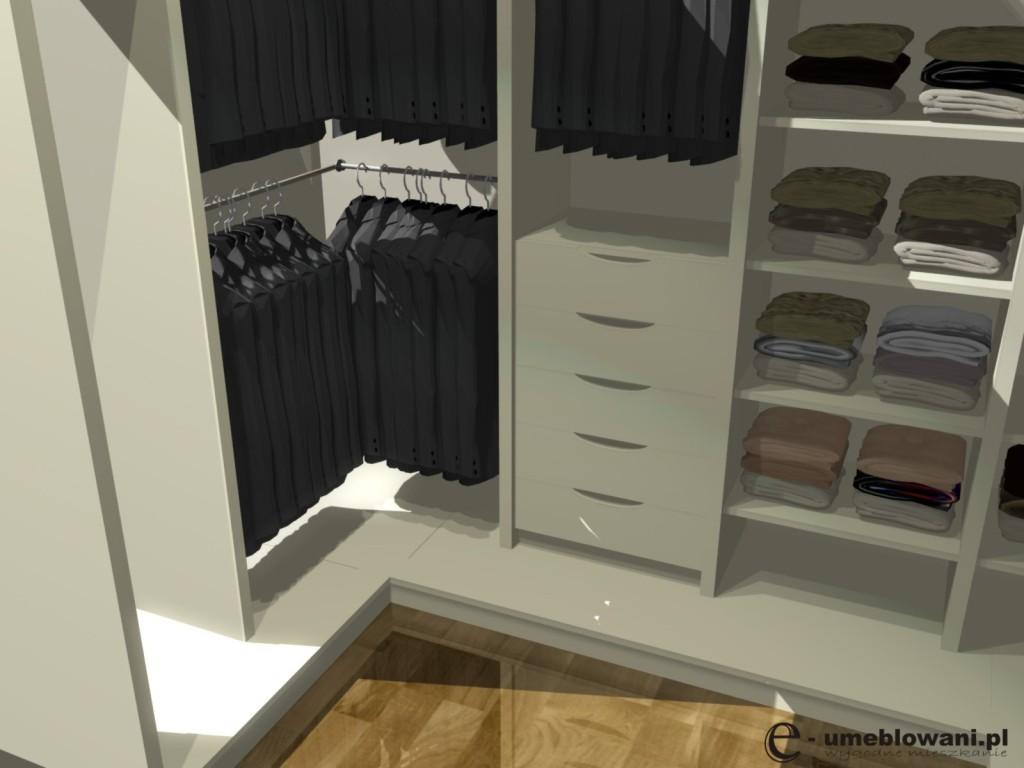 Aranżacje garderoby