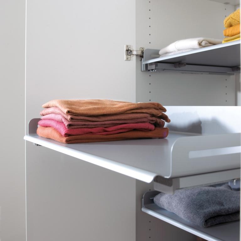 Wyposażenie szafy i garderoby w akcesoria
