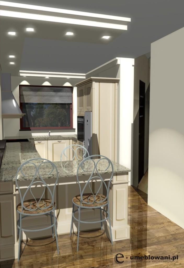 projekt kuchni prowansalskiej
