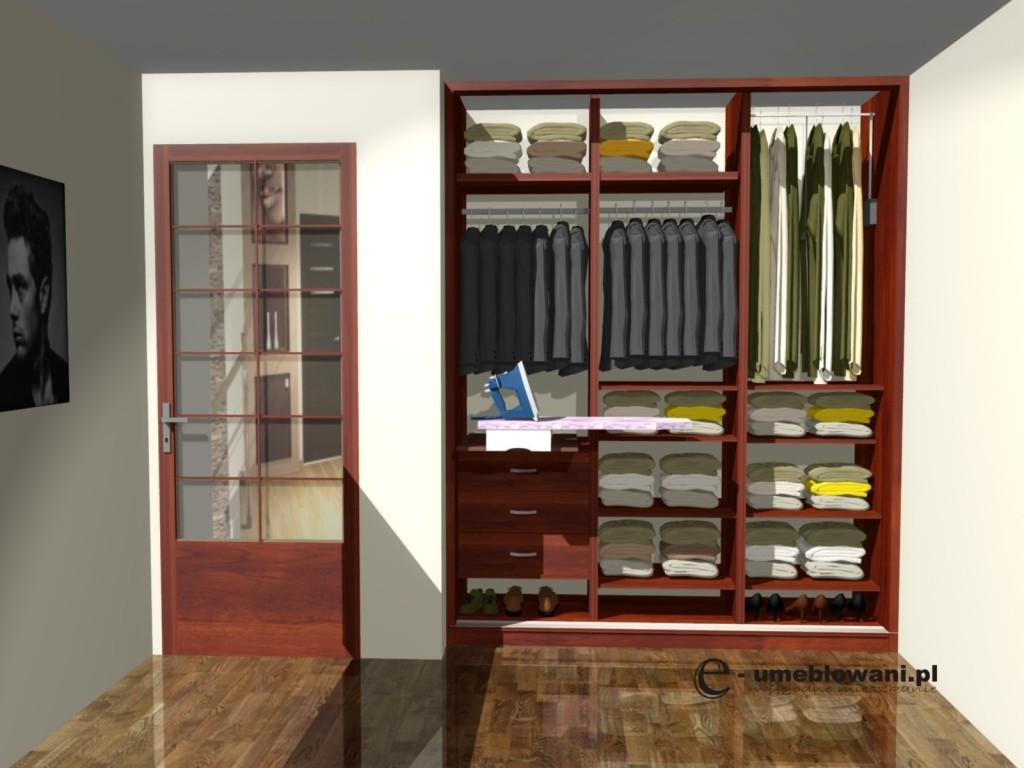 Projekt szafy do przedpokoju