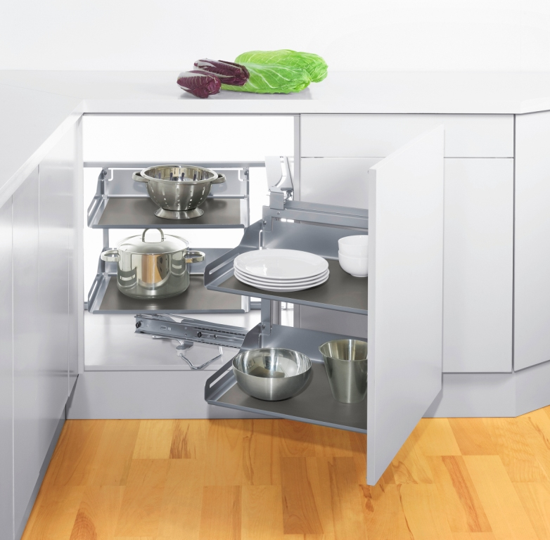 Aranżacje małej kuchni szafki narożne