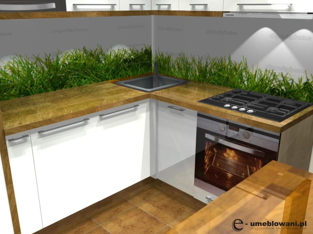 Kuchnia w bloku aranżacje małej kuchni (4)  Projekty i aranżacje wnętrz  Fa   -> Aranżacje Kuchni W Bloku Zdjecia