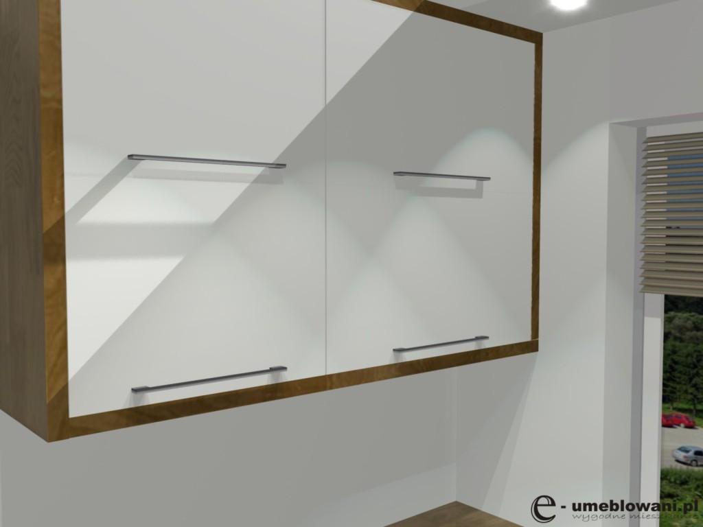 Kuchnia w bloku aranżacje małej kuchni białej z drewnem