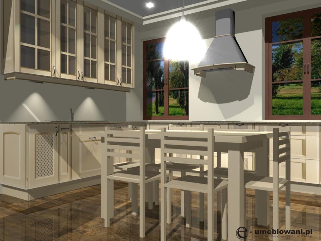 Aranżacja kuchni w stylu klasycznym