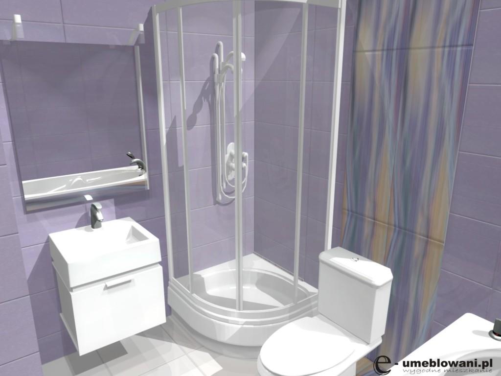mała łazienka, płytki paradyż tender may way , natrysk, wanna, szafka