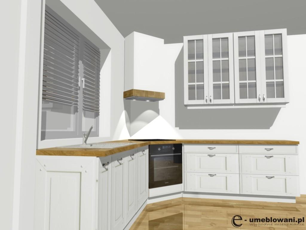 Urządzamy małą kuchnię  meble kuchenne w małej kuchni -> Okap Kuchenny Kuchnia Angielska