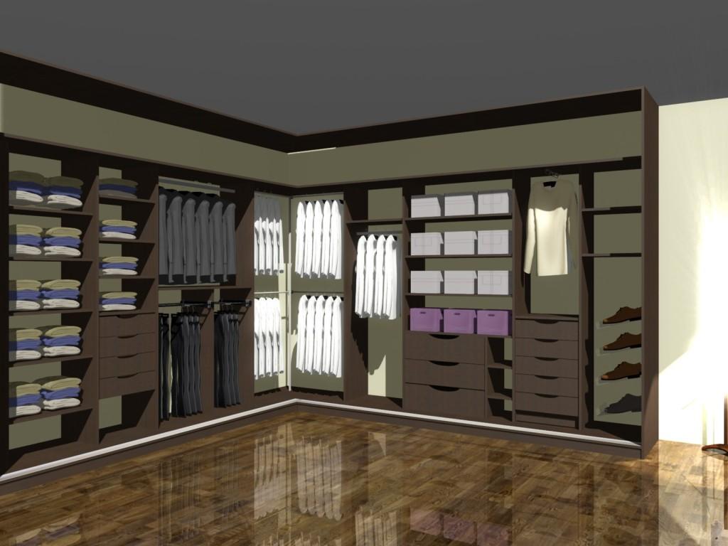 Szafa narożna na ubrania, półki, szuflady, miejsce na buty, miejsce na wiszanie ubrań