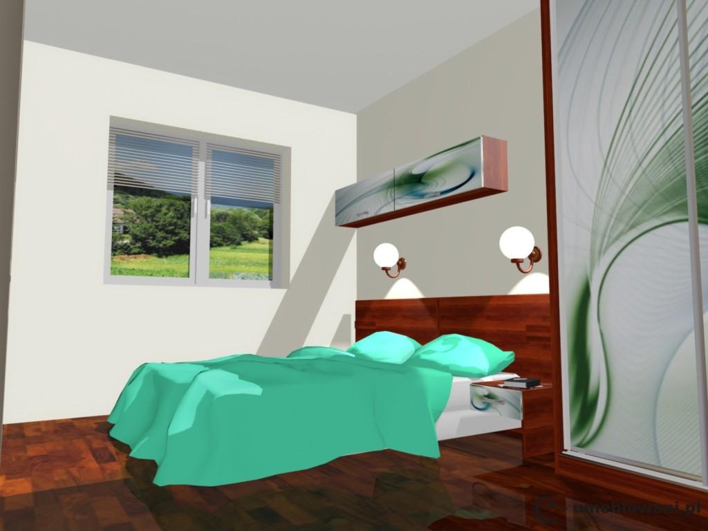 sypilania, turkus, podłoga panele calvados, fototapeta na drzwiach przesuwnych