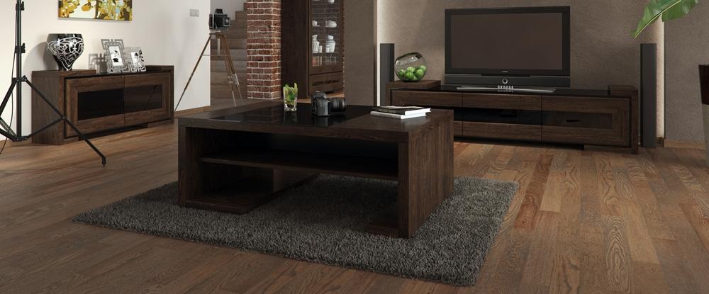 salon, panele podłogowe