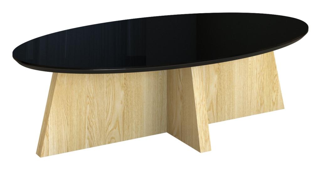 Stolik OKi, drewniany, nowoczesny