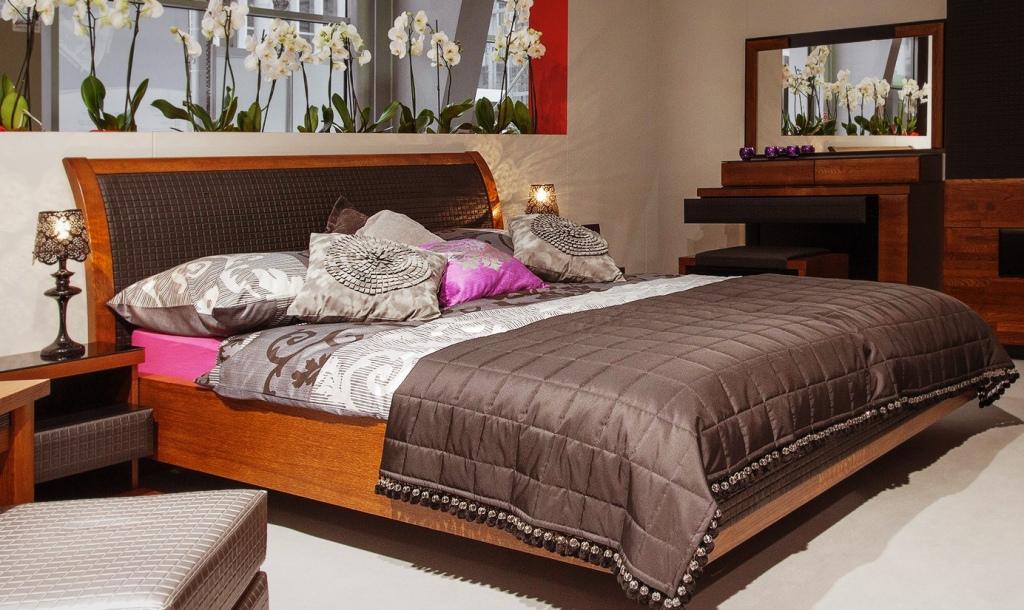 Sypialnia Mebim Verano, łóżko, toaletka