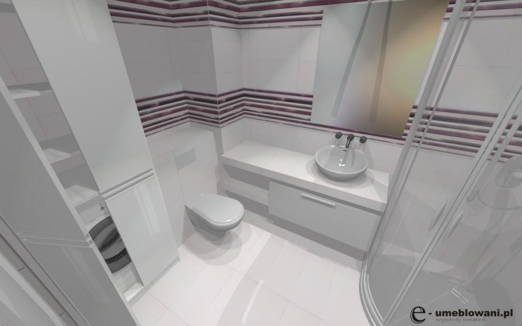 mała łazienka płytki fanal seria allegro