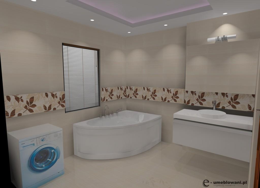 łazienka_płytki_tubadzin_pelisander_beige