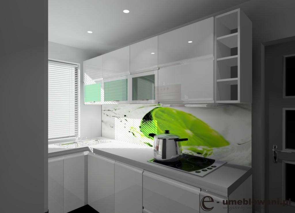 Aranżacja_projekt_kuchni_wystrój_nowoczesny_w_kolorach_biały_szary_grafika_limonka_1308142