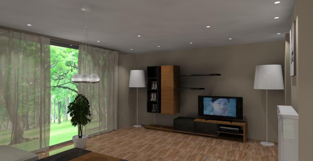 aneks-kuchenny-sufit-podwieszany-lampa-stojąca