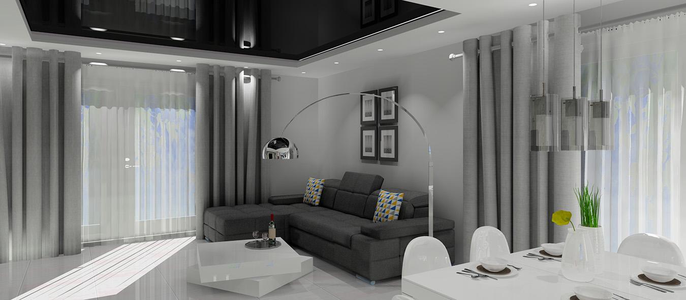 projektowanie wnętrz, nowoczesne wnętrze