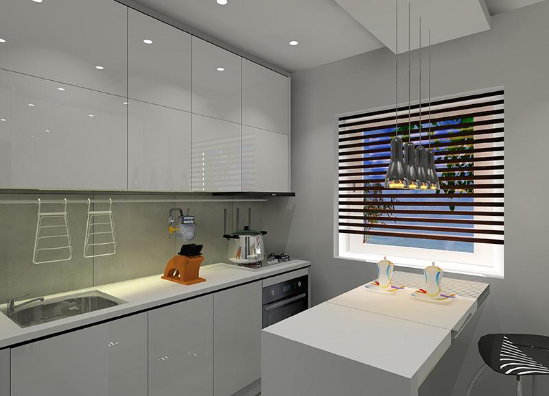 mala-kuchnia-w-bloku-z-wielkiej-plyty-barek-biale-fronty-plytki-betonowe