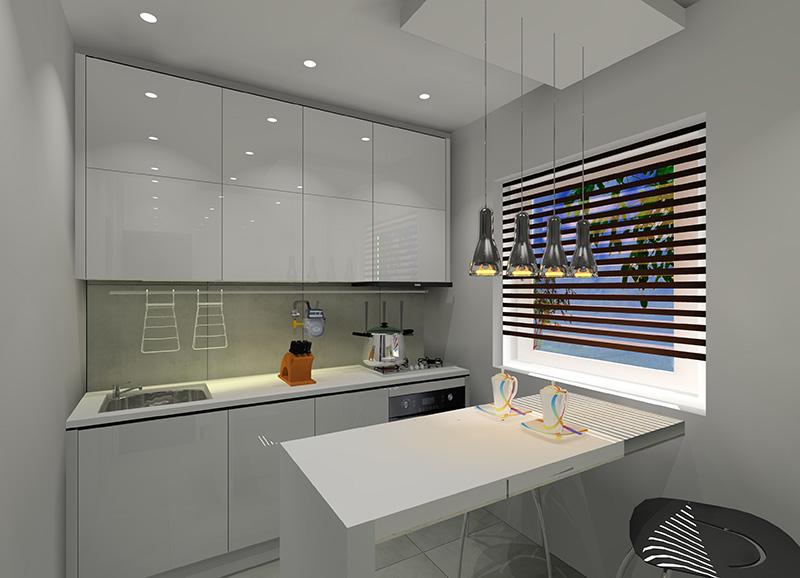 Mała kuchnia w bloku z wielkiej płyty  Projekty i aranżacje wnętrz  Fabryka