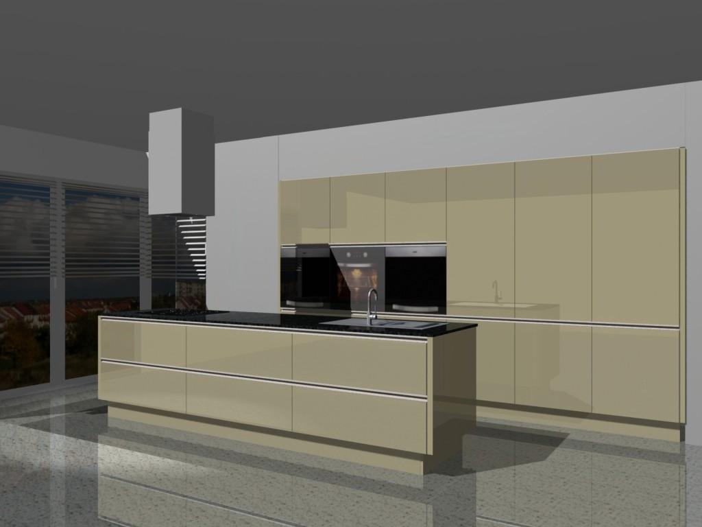 planowanie kuchni w domku jednorodzinnym