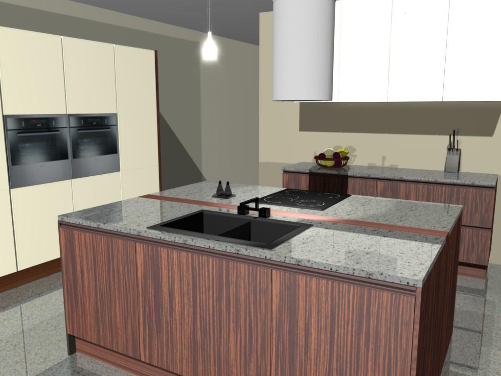 Projekty wyspy w kuchni