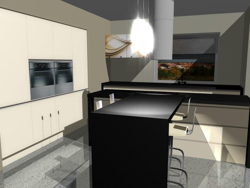 nowoczesna kuchnia wyspa 2 - Kopia