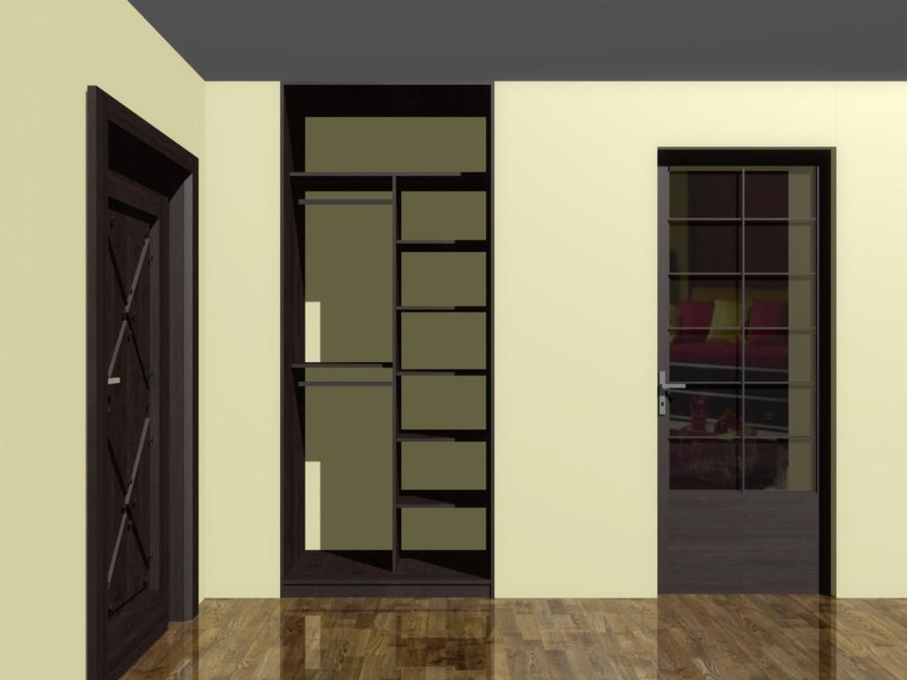 projekt szafy małej