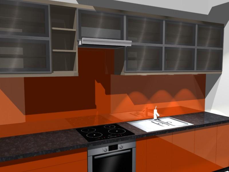 projektowanie kuchni blat