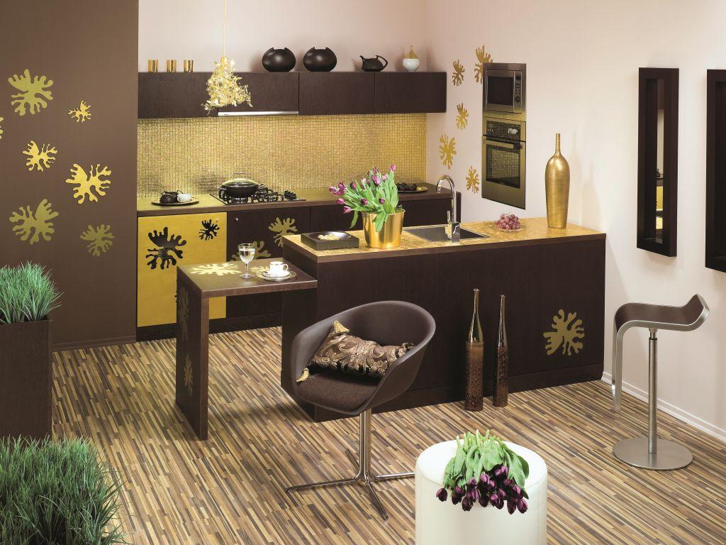 Strefa mycia produktów w kuchniach, barek w kuchni