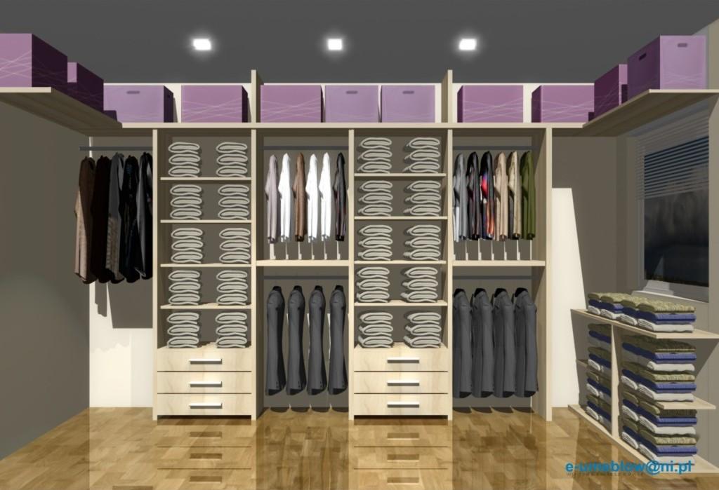 Projekty garderoby  dla dwojga