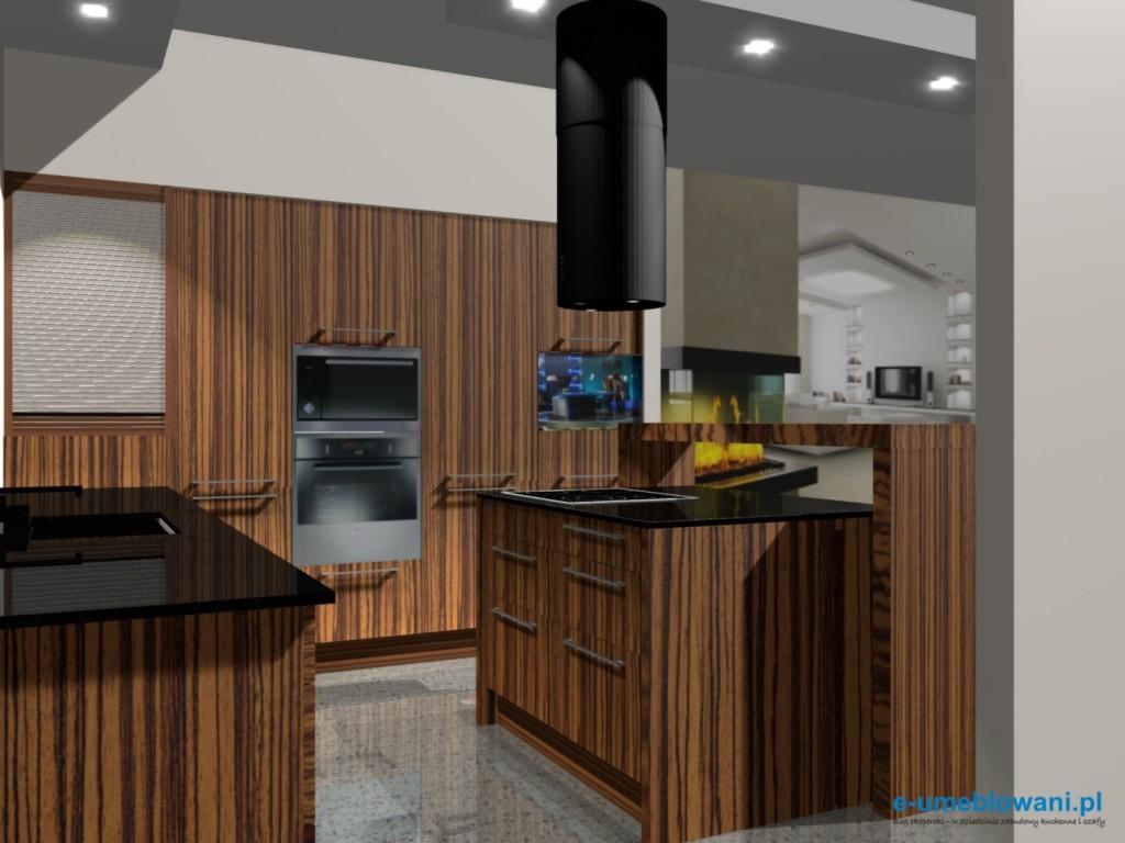 Projekty kuchni z salonem