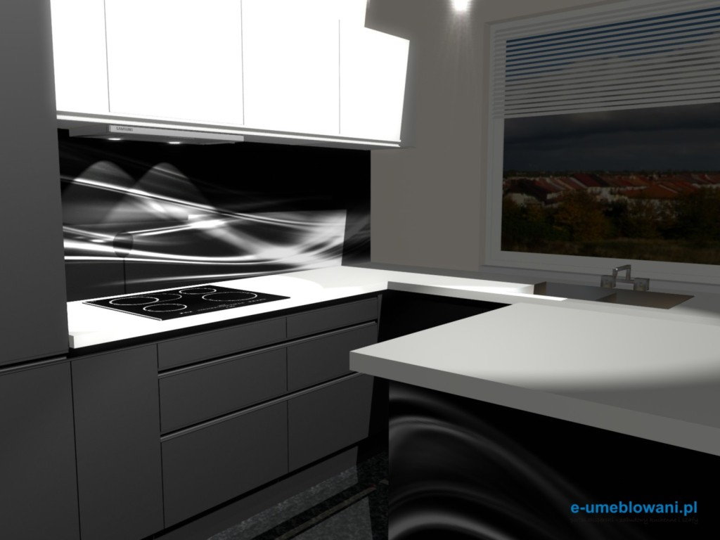 projekt kuchni 240