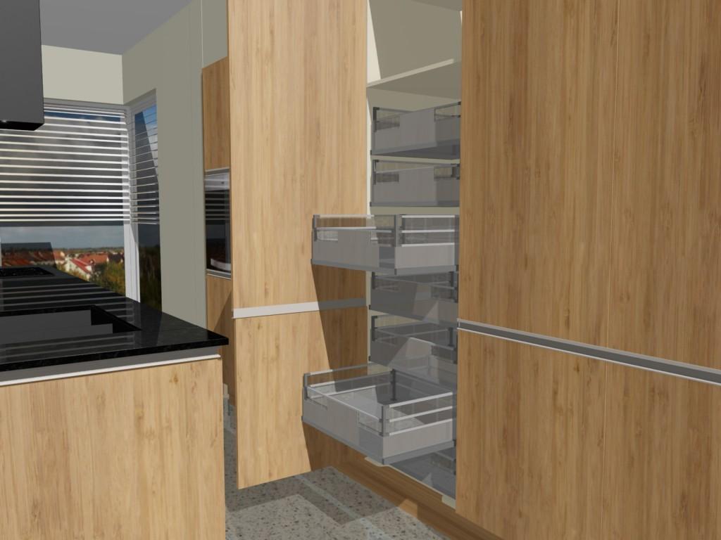 szuflady kuchenne wewnętrzne